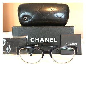 Chanel Navy Blue Eyeglasses